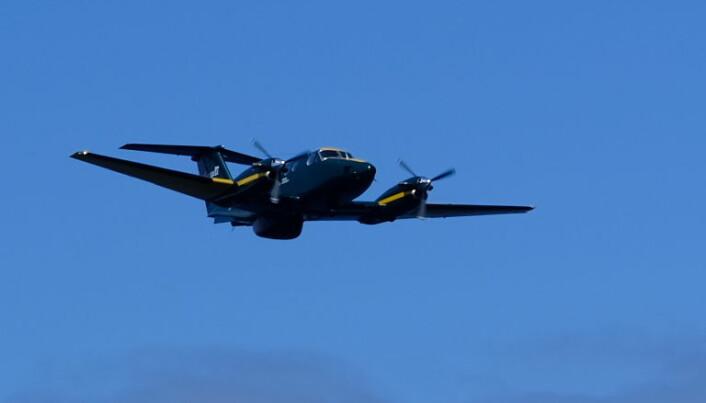 Et kystvaktfly fløy innom for å kontrollere Viljas identitet og om de hadde tillatelse til å seile i canadiske farvann.