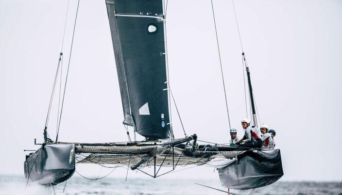GC32 er båten for Alexander Ringstad i disse dager.