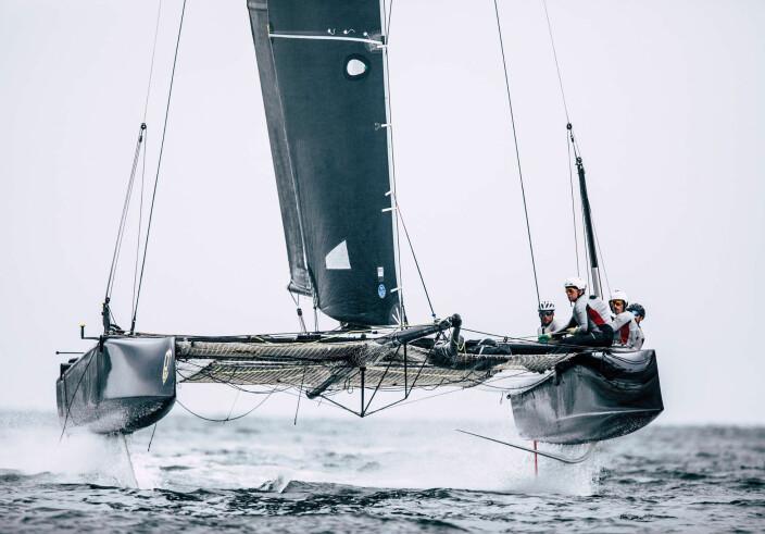 GC32 er båten for Bror With i disse dager.