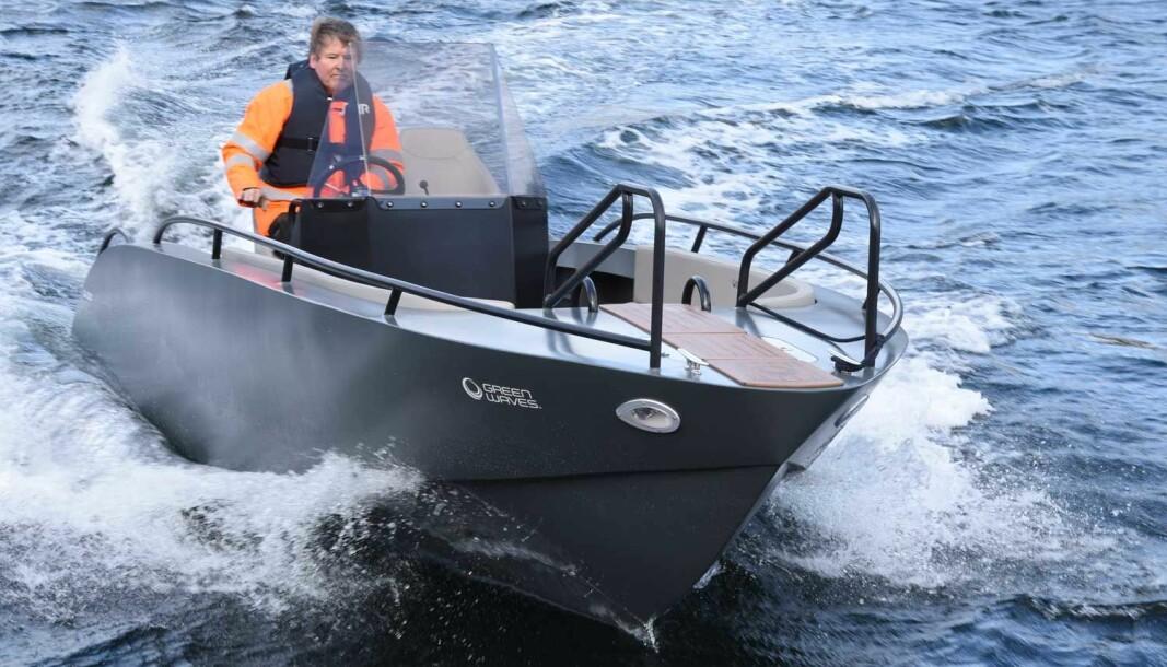 GRØNN: Norske GreenWave har utviklet en skjærgårdsjeep med elmotor med god rekkevidde og ikke avskrekkende pris.