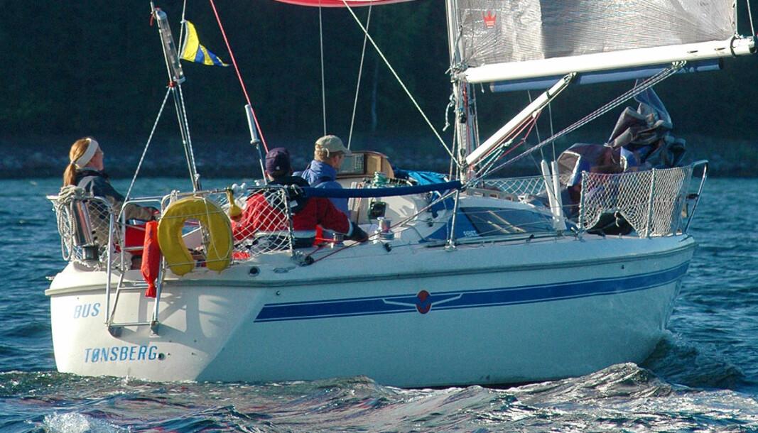 FENIX: Et ypperlig valg for førstegangs seilbåtkjøpere. Båten på bildet er en tidlig utgave med bred stripe.