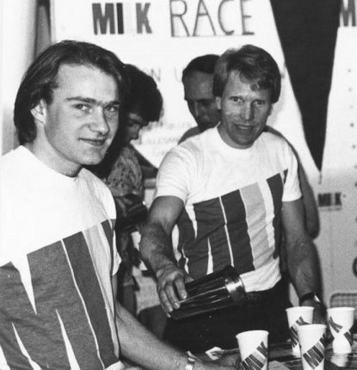 80-Tallet: Leif W. Erichsen var med å arrangere MILK-festival som samlet brettseilere fra hele Norge.