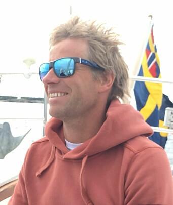 ENTUSIAST: Martin Kamperhaug ønsker å samle 1/2-tonnere på Hankø i 2023.