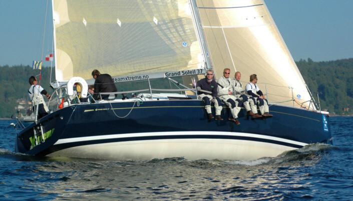 REGATTA: Grand Soleil 37 har klart seg godt på regattabanen her hjemme.