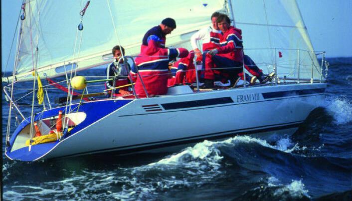 1983: «Fram VIII» ble kostruert av Eivind Amble, men bygget i Finland.