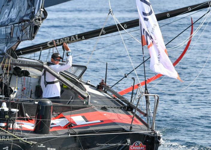VANT: Beyou i «Charal» vant, men etter å ha ligget bak sine yngre konkurrenter.