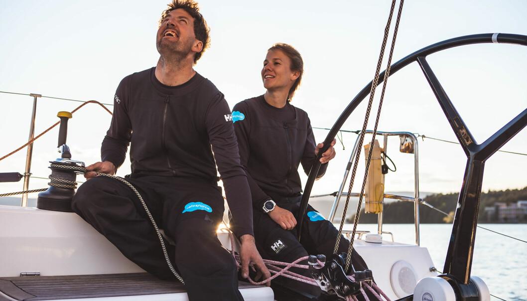 ÅRETS SEILER: Anette Melsom Myhre har alle muligheter til å bli Årets Shorthanded-seiler. Hun og Morten Christensen er blant favorittene i klasse A.