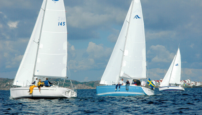 De mest velseilende: Elan var raskest, men også Hanse og Hallberg Rassy seiler bra.