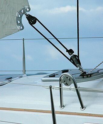 Hanse 315 har selvslående fokk som bidrar til å gjøre denne båten til testens mest praktiske.