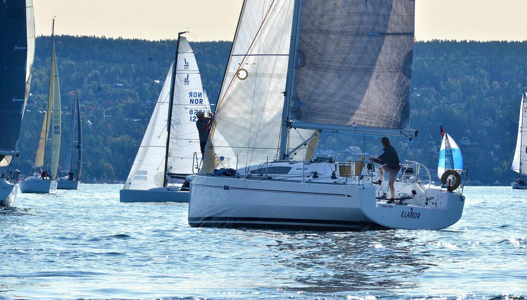 ELAN 350: Tor Hove og Kjell Inge Heiberg mistet NM-gullet på grunn av Hoves seilforening.