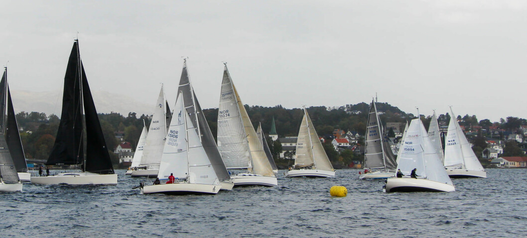 Windjammer-regatta for 42. gang