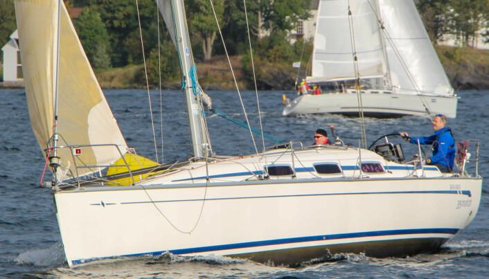 Overall-vinner «Match» med Rolf Gangdal og Leif Rune Gravdal om bord.