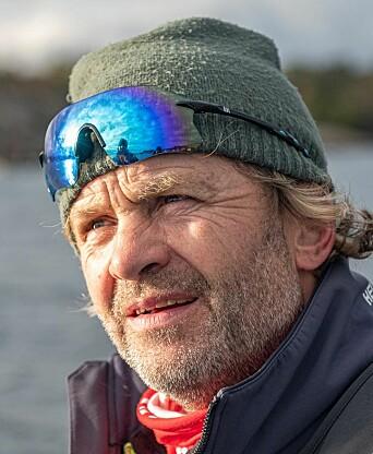 FANTASTISK: – Det er utrolig hyggelig at så mange seilere støtter NSFs initiativ overfor TV-aksjonen, sier Thomas Nilsson