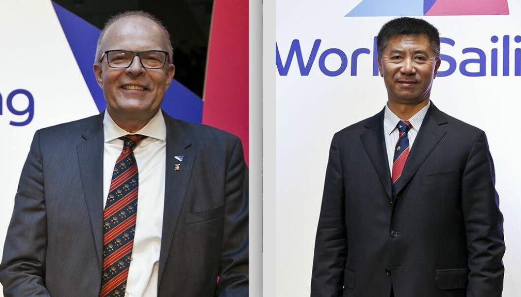 Kim Andersen og Quanhai Li
