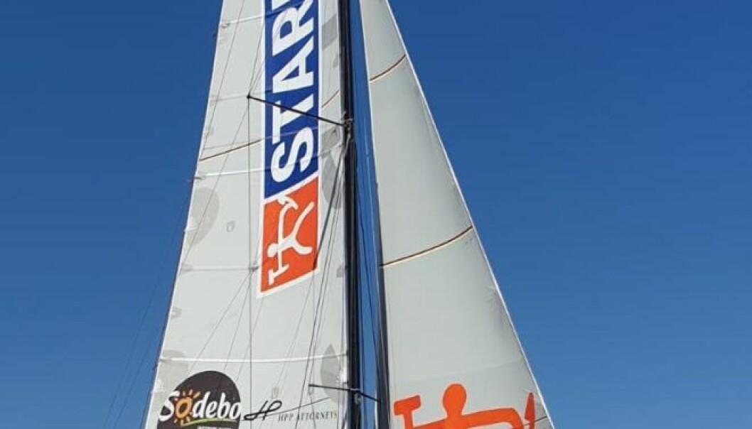 VENDEE GLOBE: Stark heter Huuselas største eksterne sponsor