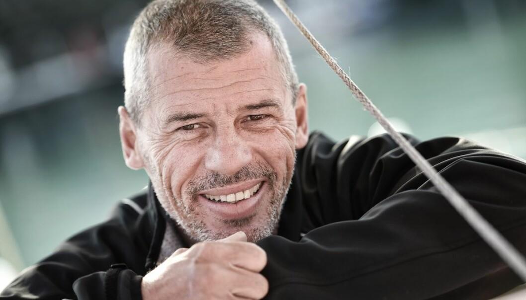 KVALIFISERT: Sébastien Destremau fikk båten med elmotor godkjent i siste liten.
