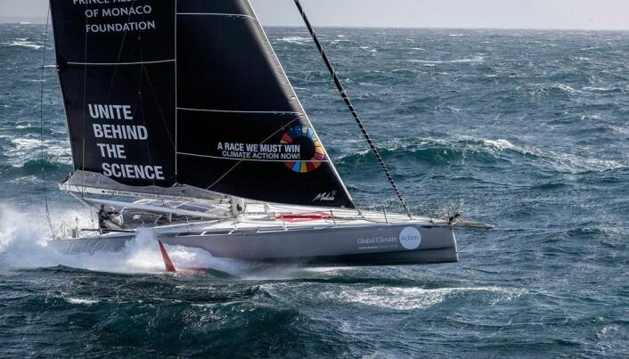 UTSLIPSFRITT: «Seaexplorer» skal seile uten en dråpe diesel, om alt går etter planen.