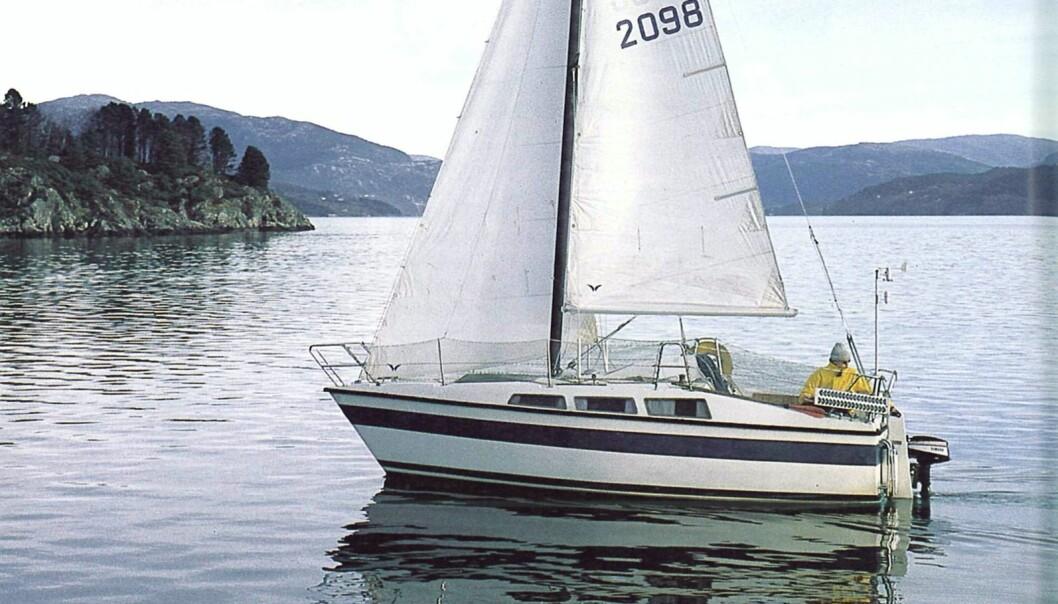 FRA ARKIVET: Columbie 66 ble testet i Praktisk Båtliv nummer 1 2000.
