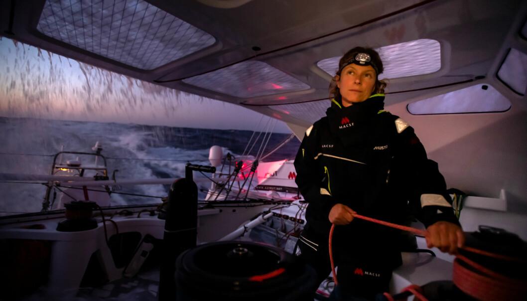 FAVORITT: Isabelle Joschke er en av seks jenter, og blandt de tre jentene med høyest budsjett. Den tysk-franske seileren har gode sjanser for topplassering.