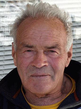 HAFSTEIN JOHANNSSON: Hafsteinn Johannssonfra Island, men bosatt i Norge, gjennomførte sin soloseilas non stop rundt jorden i 1990/91.