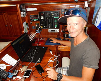 LANGTURSEILER: Erik Welin-Larsen har vært på langtur med egen båt, en Bavaria.