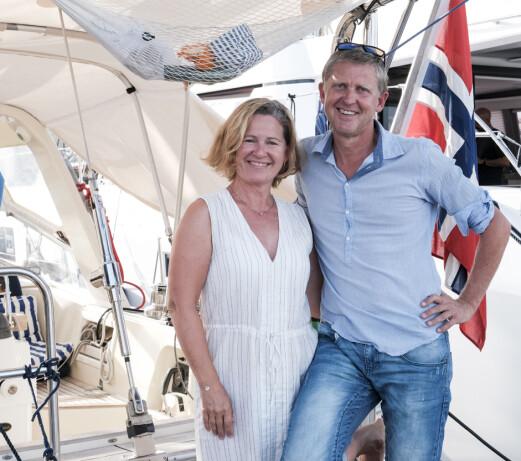 MALØ 42: Nina Dahl Vågenes og Eirik Vågenes har planer om å seile jorda rundt i «Emelin».