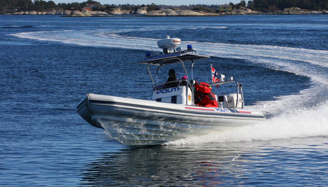 POLITIET: Myndighetene vil innføre forenklet forelegg på sjøen.