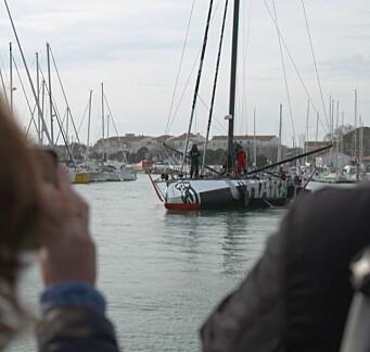 SKADET: «Charal» er i havn hvor skadene blir vurdert.