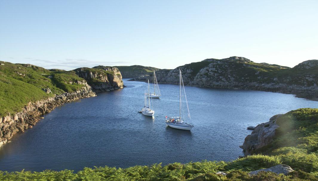 SKOTTLAND: Seks ukers seiltur rundt Skottland i en Sweden Yacht C34.