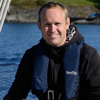 SEILER: Hanse 400 er Holtes tredje seilbåt.