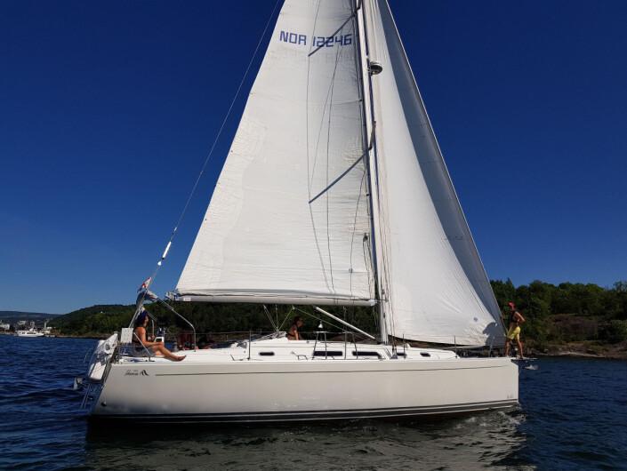 UTSTYR: Holthe har brukt mye penger på å få båten slik han ønsker den skal være.