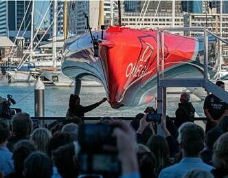 Her er New Zealands nye America's Cup båt