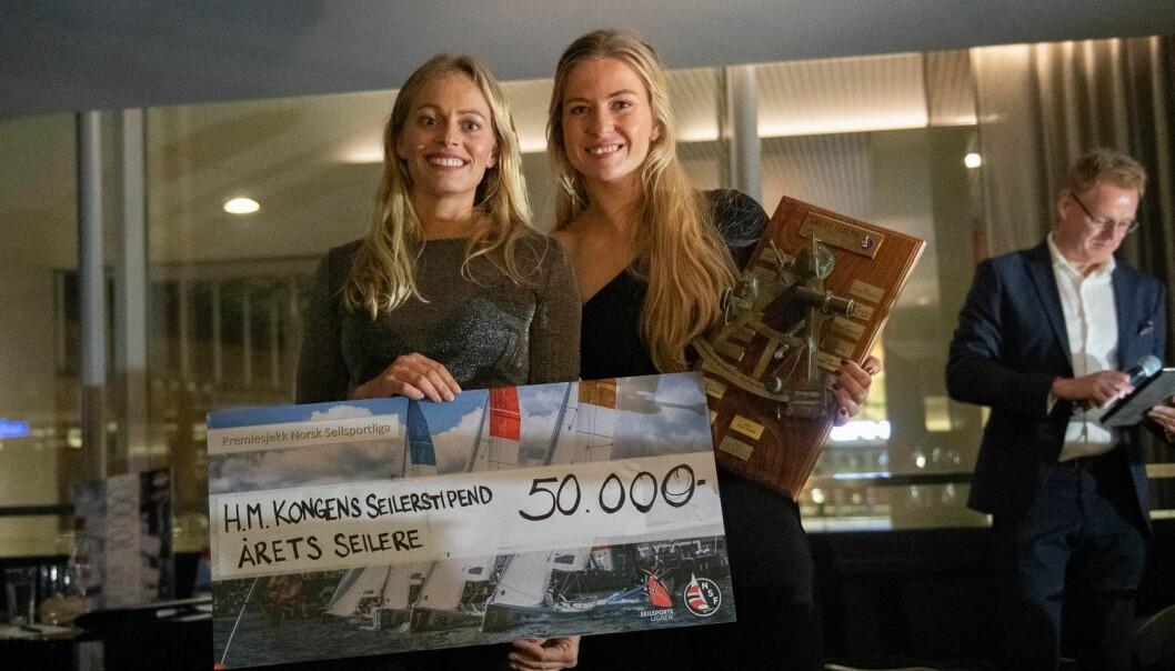 ÅRETS SEILERE 2019: Helene Næss og Marie Rønningen ble Årets Seilere 2019, men hvem blir det i år? Det blir avslørt 8. desember.