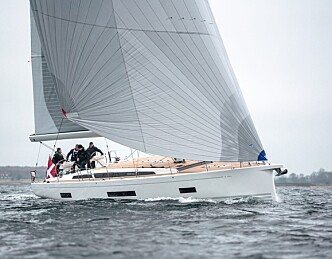 Ny båt fra X-Yachts på vannet