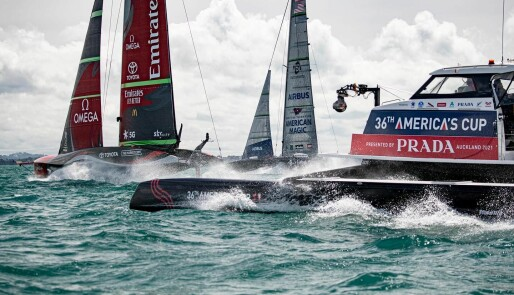 America's Cup igang