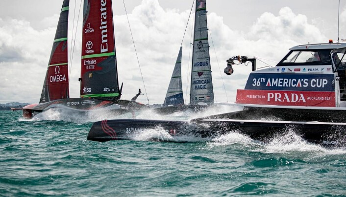 LES: America's Cup igang