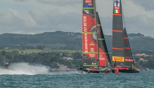 Emirates Team New Zealand imponerer