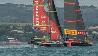 Emirates Team New Zealand imponerer