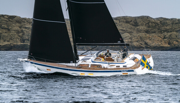 Under sail picture of latest HR 50 2021. Copyright © Ludovic FRUCHAUD IMACIS 2020