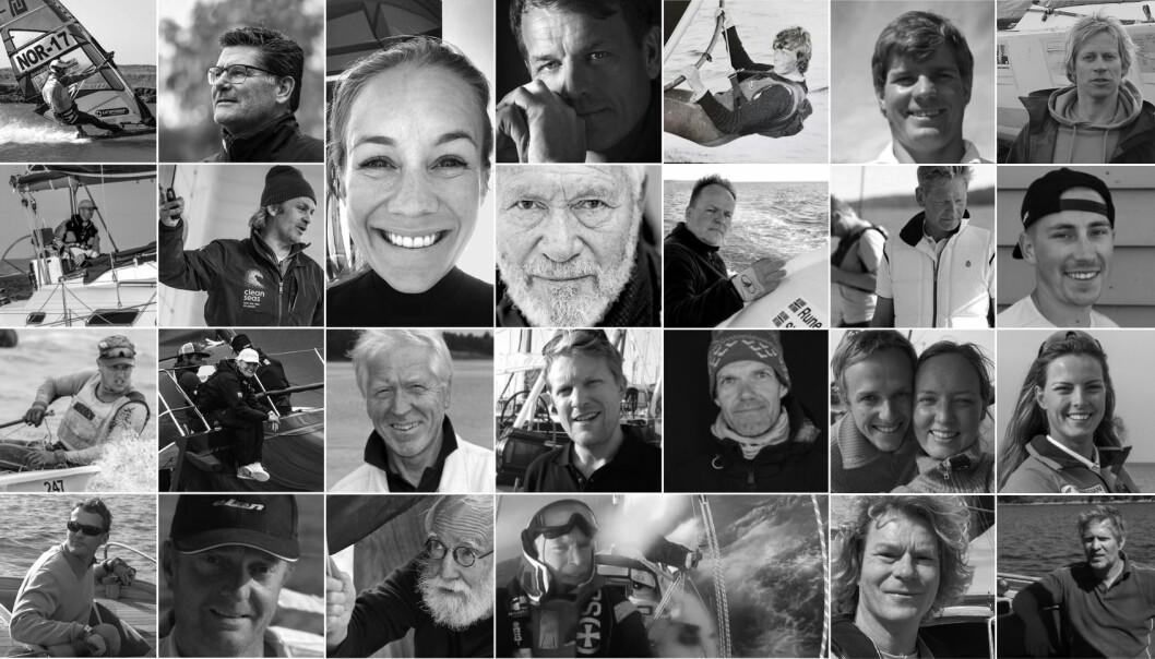 UTVALG: Mikkel Thommessen har hatt over 100 samtaler med interessante personer i seilmiljøet.
