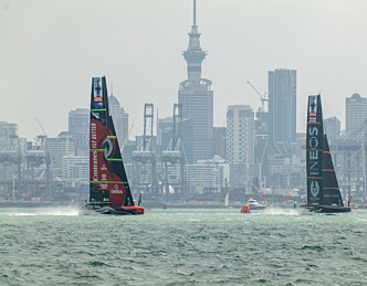 Emirates team New Zealands dag
