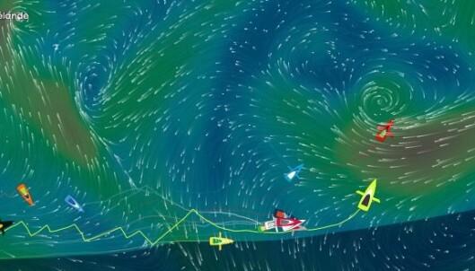 HØYTRYKK: Det vil være mer vind i nord, men i mot.