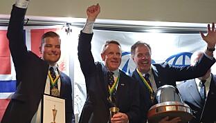 VM vinnerne 2020, Anders Pedersen, Kristian Nergaard og Johan Barne