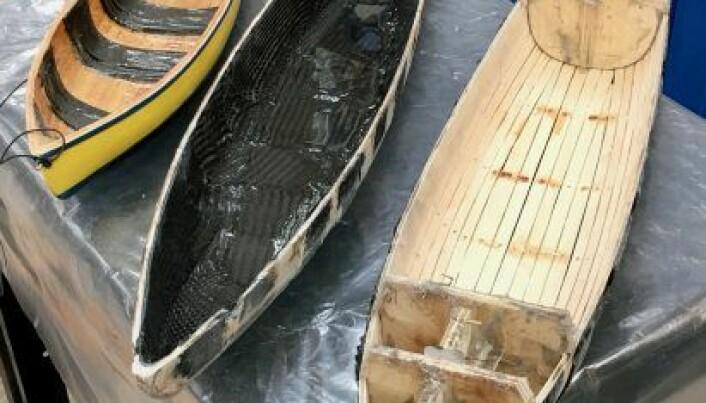 Modeller av ny båt