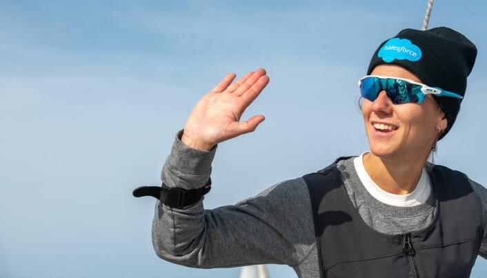 BEST AV DAMENE: Anette Melsom Myhre begynte å seile shorthanded for alvor i 2020 og ble Årets shorthanded-seiler. På rankingen er hun nå inne på topp 10-listen.