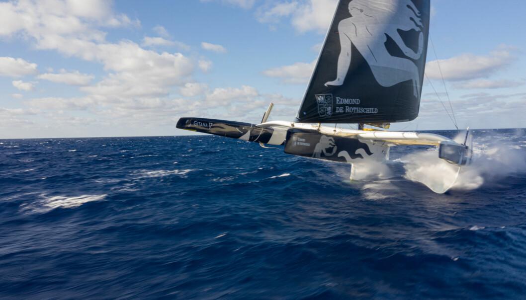 GITANA, Maxi Edmond de Rothschild. 16 August, 2019. Navigation, Onboard. Navigation, hauturier, large, entrainement, Qualification