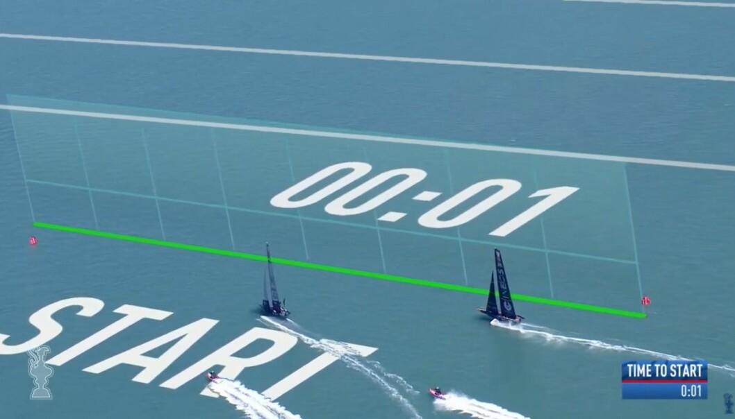 BEST: Ben Ainslie vant begge startene, og ledet begge regattaene fra start til mål.
