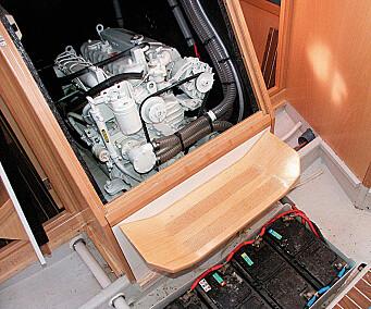 Lett å komme til motor or batterirom.