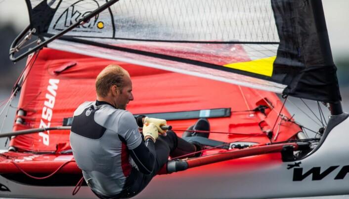 ALEXANDE RINGSTAD: Alexander Ringstad var en av landets første til å starte med foiling – og den veien har han fortsatt på.