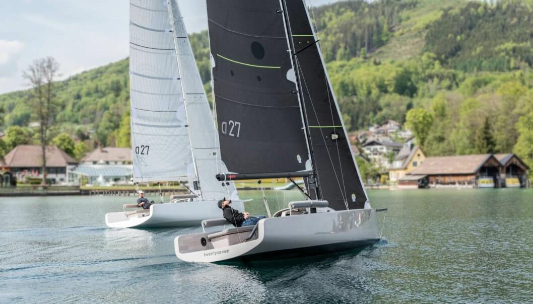 TRENDY: Dagseilere er seilernes svar på «Daycruiser». Enkle båter for det gode liv på vannet.